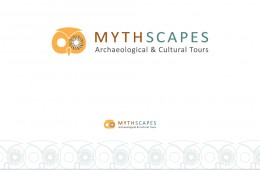 Mythscapes logo design