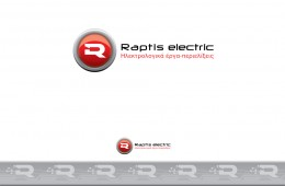Raptis electric logo design
